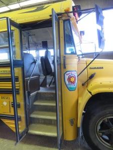 School Bus converted to AmbuBus