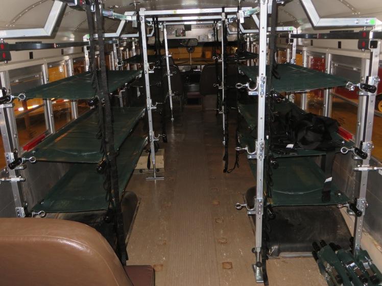 Inside the AmbuBus
