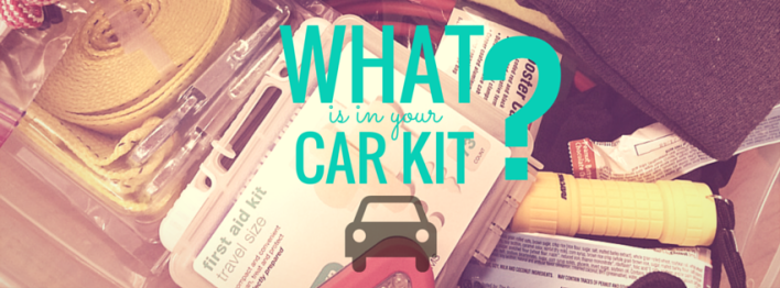WHAT'S IN YOUR CAR KIT